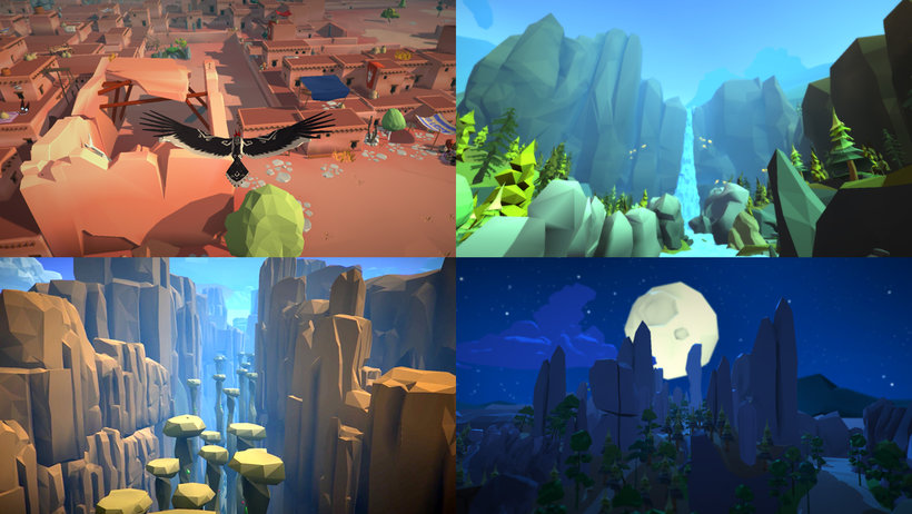 Low Poly Set Modeling for Video Games
