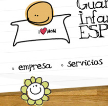 Guardería Infantil Español. A Design, and UI / UX project by Rafael Marzal Bermúdez - 18-06-2009