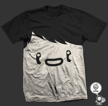face teeshirt. A Design&Illustration project by Olivier Fritsch - 15-07-2009