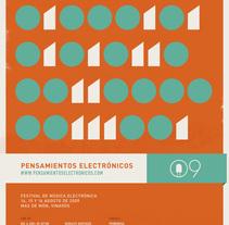 Pensamientos Electrónicos. Um projeto de Design e Ilustração de Miguel Ángel Sánchez Rubio - 31-07-2009