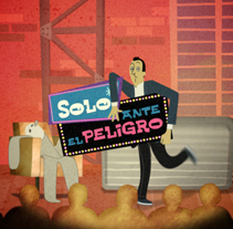 Solo ante el peligro. A Design, Illustration, Advertising, Motion Graphics, Film, Video, and TV project by Vicente  Mallols - Aug 01 2009 07:11 PM