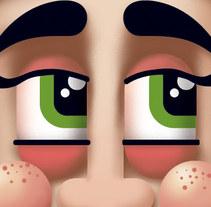 Personaje para Clone. A Illustration project by Chema Longobardo Polanco         - 26.10.2009
