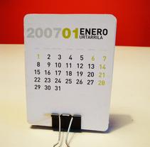calendario 2007. Un proyecto de Diseño de Marilu Rodriguez Vita - Lunes, 11 de enero de 2010 16:21:47 +0100