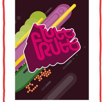 Funny Words - Tutti Frutti. A Design&Illustration project by Mariano de la Torre Mateo         - 22.01.2010