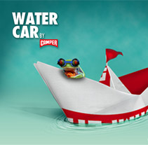 Camper Water Car. A Design, and Advertising project by Marc Borràs Gallardo         - 24.01.2010