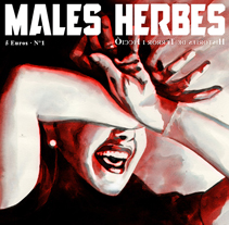Les Males Herbes. A Illustration project by Joan Sanz         - 24.02.2010