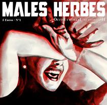 Les Males Herbes. Um projeto de Ilustração de Joan Sanz         - 24.02.2010