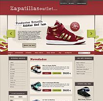 Propuesta tieda de zapatillas online. Un proyecto de Diseño de José Antonio  García Montes - Jueves, 25 de marzo de 2010 17:17:22 +0100
