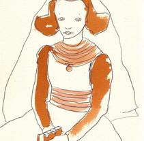 Libro de fotografías. Um projeto de Ilustração de zulema galeano         - 07.04.2010