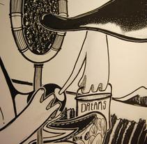Decoración vivienda particular. Un proyecto de Ilustración de francisco javier alvarez garcia         - 12.04.2010