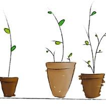 El pequeño jardin. A Illustration project by Renata Ortega Cirera         - 06.05.2010