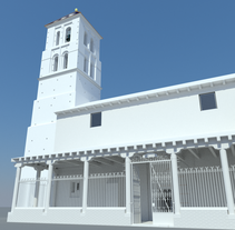 Iglesia de Arbas S. XV 3D (WIP). Un proyecto de 3D de Oscar Hernández de la Viuda - 14-05-2010