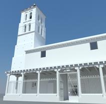 Iglesia de Arbas S. XV 3D (WIP). Um projeto de 3D de Oscar Hernández de la Viuda - 14-05-2010