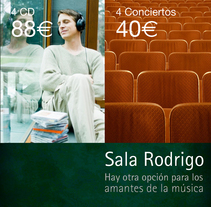 Palau de la Música de Valencia. A Design, and Advertising project by Gabriel Serrano - 17-06-2010
