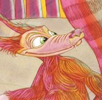 Caperucita segun el lobo. Um projeto de Ilustração de Luis Liendo         - 20.06.2010
