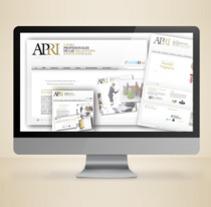 APRI microsite. Um projeto de Design, Publicidade e Desenvolvimento de software de Fran Fernández         - 24.06.2010