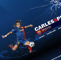 Carles Puyol. A Design, and Software Development project by Guillermo Lucini  - 06-07-2010