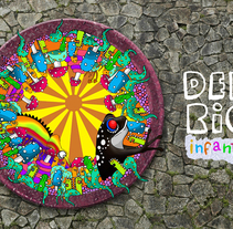 Delirio infantil. Un proyecto de Diseño e Ilustración de Pablo Favre         - 12.07.2010