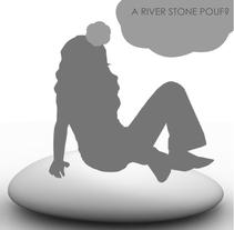 The stone pouf. Un proyecto de  de dlux_estudio         - 05.08.2010