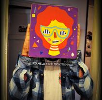 LOS MONSTRINHOS. Un proyecto de Ilustración de LEO MELO Y LOS MONSTRINHOS         - 07.08.2010