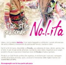 emailing nolita. Un proyecto de Publicidad de Massimiliano Seminara - Martes, 07 de septiembre de 2010 21:19:55 +0200