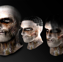 Zombie. A Design, Illustration, and 3D project by Maximo  - 17-09-2010