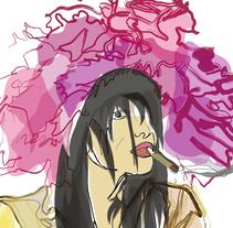 Chanel Girl. Um projeto de Ilustração de Misaf         - 23.09.2010