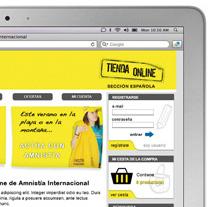 Amnistía Internacional, tienda online. Un proyecto de Diseño de Javier González - Jueves, 23 de septiembre de 2010 22:22:16 +0200