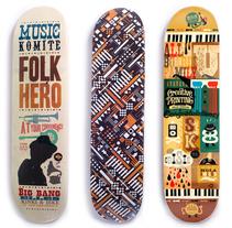 Tablas Skate. A Design, Illustration, and Advertising project by Raúl Gómez estudio - Sep 25 2010 08:30 PM