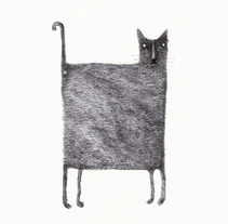 cuatro gatos. A Illustration project by Natalia Yanguas - Oct 08 2010 09:34 PM