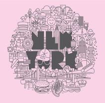 Hommu / I love cities. Un proyecto de Instalaciones e Ilustración de Joel Lozano - Lunes, 18 de octubre de 2010 11:13:15 +0200