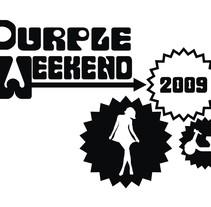 Purple Weekend 09. Un proyecto de Diseño, Ilustración y Publicidad de Marina López Campesino - 27-10-2010