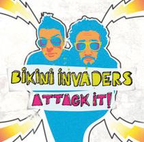 "Bikini Invaders ""Attack it!"". A Design&Illustration project by Patxi Pérez - 13-11-2010"