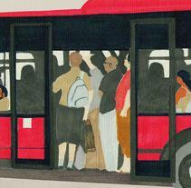cuaderno de viaje. A Illustration project by Maria Souza Mundí         - 19.11.2010