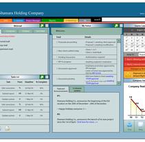 Diseños de Interfaces. Um projeto de Design e UI / UX de Fida A.R - 25-11-2010