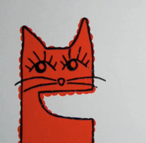 Gato Stop Motion. A Illustration, and Motion Graphics project by violeta nogueras         - 02.12.2010