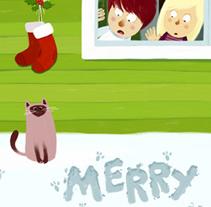 Feliz Navidad!!. Un proyecto de Ilustración de Oriol Vidal - Miércoles, 22 de diciembre de 2010 17:34:51 +0100