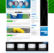 Propuesta blog Daikin. A Design project by Jaime López Revuelta - Jan 04 2011 12:42 PM