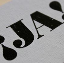¡JA! Tarjetas. Un proyecto de Diseño, Instalaciones, Motion Graphics, Ilustración, Cine, vídeo, televisión, Fotografía, Música y Audio de Rocío   Ballesteros - Miércoles, 12 de enero de 2011 13:32:28 +0100