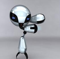 Robot. A 3D project by Fabián García Bailén - Jan 12 2011 05:08 PM