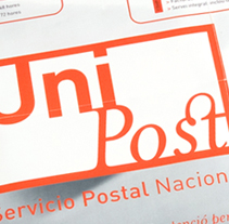 Unipost. A Design, and Advertising project by unomismito (Rafa Reig) - Jan 31 2011 04:39 PM