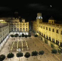 PLAZA DEL AYUNTAMIENTO DE ALICANTE. A Design, Photograph, and 3D project by Andres Romero          - 01.02.2011