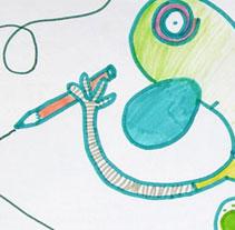 Pitusin. Un proyecto de Ilustración de Agnès catalan         - 06.02.2011