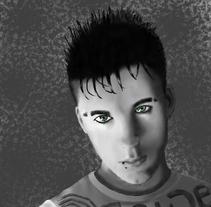 Retrato. Um projeto de Design e Ilustração de anabel sánchez blanch         - 08.02.2011