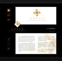 Web Corporativa. A Design project by Aitor Sánchez López         - 09.02.2011