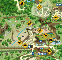 Mapa Terra Natura. Un proyecto de Ilustración de Pedro Antonio Castillo - Viernes, 18 de febrero de 2011 16:51:48 +0100
