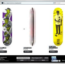 Herokid™ Skateboards. A Design, Motion Graphics, Illustration, Film, Video, TV, Software Development, 3D, UI / UX, IT, Photograph, Music, Audio, and Advertising project by Robert  - Mar 17 2011 03:18 PM