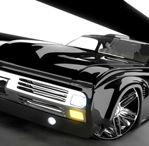 Mustang. A Design, Illustration, and 3D project by Hector Serrano         - 27.03.2011