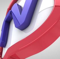 Aprende Ingles TV Branding 2011. Un proyecto de Motion Graphics, Cine, vídeo, televisión y 3D de Oscar Arias - 29-03-2011