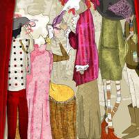 Cartel de Carnaval 2011 - propuesta. A Illustration project by Isabel Cabello Studio - Mar 30 2011 05:51 PM